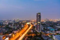Main Highway of capital city Stock Photos