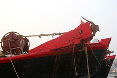 The main hoist winch Stock Image