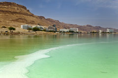 Dead Sea Hotel Strip Royalty Free Stock Images