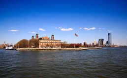 The main immigration building on Ellis Island Royalty Free Stock Photos