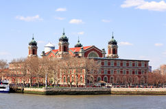 The main immigration building on Ellis Island Royalty Free Stock Photo