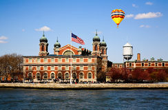 The main immigration building on Ellis Island Stock Photos