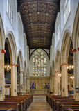 Main Isle, St. Stephens Church, Bristol. City Centre Stock Images