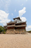 Main keep donjon of Fukuchiyama Castle in Fukuchiyama, Japan Royalty Free Stock Images