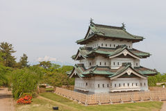 Main keep donjon of Hirosaki Castle, Hirosaki city, Japan Stock Image