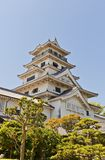 Main keep (donjon) of Imabari Castle, Japan Stock Photography