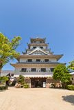 Main keep (donjon) of Imabari Castle, Japan Royalty Free Stock Photo