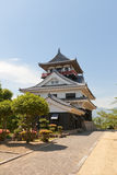 Main keep (donjon) of Kawanoe castle, Shikokuchuo, Japan Royalty Free Stock Images