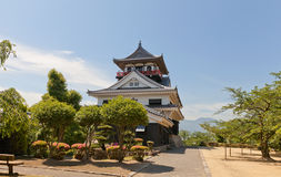 Main keep (donjon) of Kawanoe castle, Shikokuchuo, Japan Stock Photos