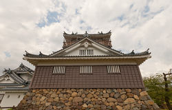 Main keep of Echizen Ohno castle in Ohno, Japan Stock Image