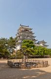 Main keep of Fukuyama Castle, Japan. National Historic Site Stock Photos
