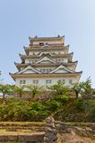 Main keep of Fukuyama Castle, Japan. National Historic Site Royalty Free Stock Photo