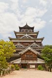 Main keep of Hiroshima Castle, Japan. National historic site Royalty Free Stock Image
