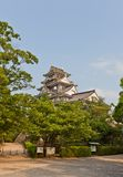 Main keep of Okayama Castle, Japan. National Historic Site Royalty Free Stock Images