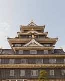 Main keep of Okayama Castle, Japan. National Historic Site Royalty Free Stock Photography