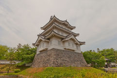 Main keep of Oshi castle in Gyoda town, Japan Stock Image