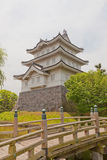 Main keep of Oshi castle in Gyoda town, Japan Stock Photos