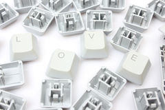 Main keyboard buttons Royalty Free Stock Photo
