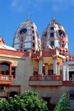 The main Krishna temple in Delhi. Royalty Free Stock Images