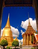 Main Largest Stupa at Wat Pra Kaew Royalty Free Stock Photos