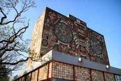 Main library, UNAM campus Stock Image
