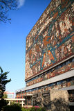 Main library, UNAM campus Stock Photography