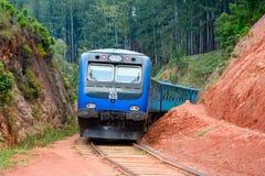 The Main Line Rail Road In Sri Lanka Royalty Free Stock Photos
