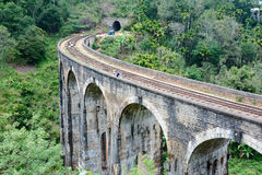 The Main Line Rail Road In Sri Lanka Stock Photography