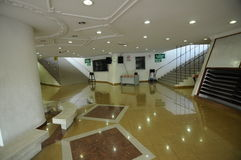Main lobby of Negeri Sembilan State Mosque in Negeri Sembilan, Malaysia Royalty Free Stock Photos