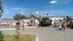 Main local lore museum of Kolomna Kremlinin stock video
