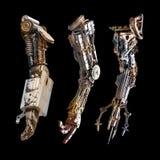 Main métallique de robot images libres de droits
