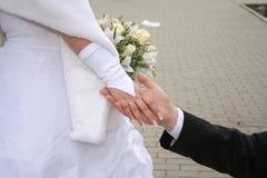 Main mariée Image stock