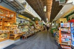 Main market in Chania, Crete Stock Image