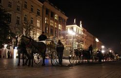 Main Market in Krakow Royalty Free Stock Images