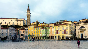 The main market of Piran Stock Images