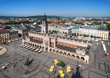 Main Market Square in Cracow, Poland Stock Photography
