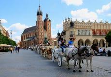 Krakow Rynek, Poland Stock Images