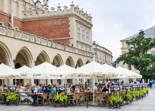 The Main Market Square, Krakow, Poland. Royalty Free Stock Photography