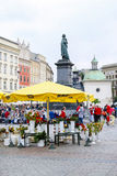 The Main Market Square, Krakow, Poland. Royalty Free Stock Photos