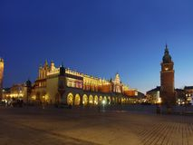 Main Market Square by Night Stock Images
