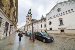 Main market square of the Old Town in Krakow, Poland Stock Photos
