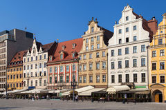 Main Market Square of Wroclaw Stock Image