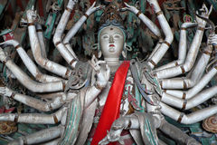 main mille de Bouddha Photos stock