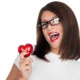 Main montrant le coeur Image libre de droits