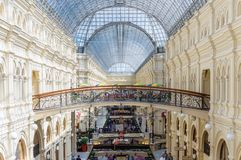 Main Moscow department store Royalty Free Stock Photography
