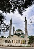 Main mosque in Cherkessk Royalty Free Stock Images