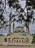 Main mosque in Cherkessk Royalty Free Stock Photos