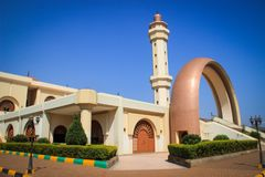The main mosque in Kampala. Uganda stock images
