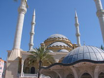 The main mosque of Manavgat Stock Image