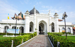 The Main Mosque in Melaka, Malaysia.  Royalty Free Stock Images